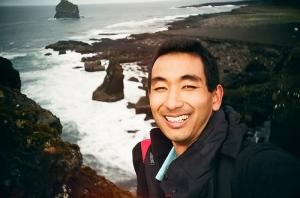 Selfie na Islândia
