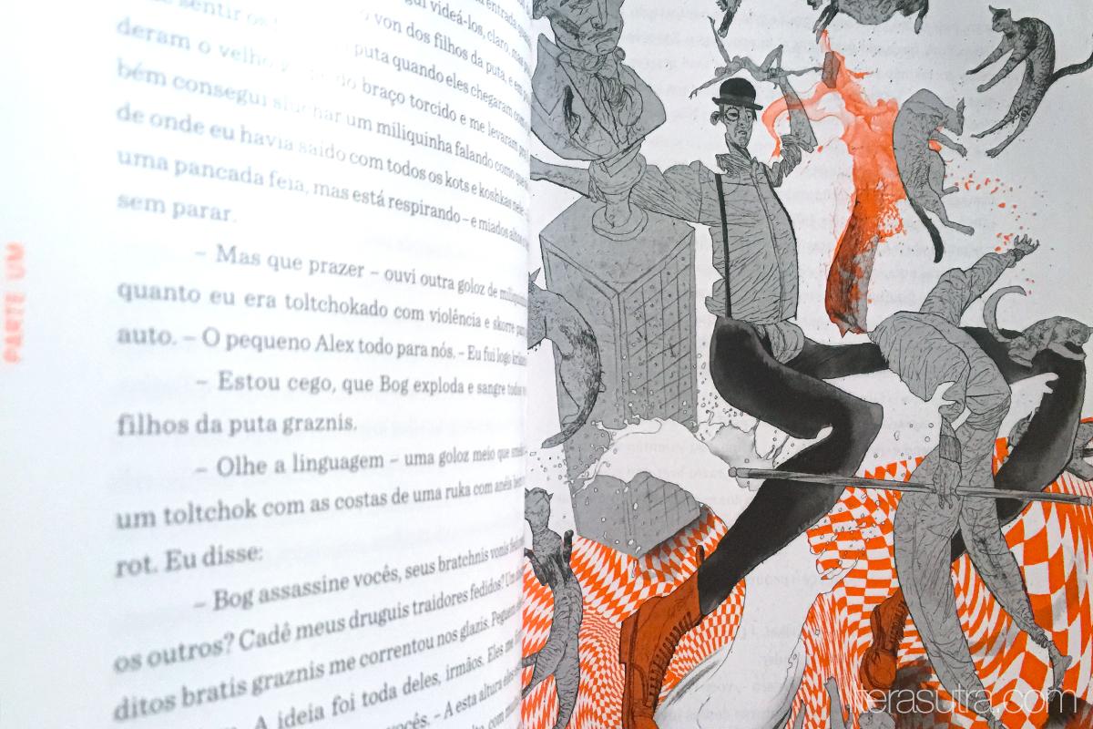 laranja mecânica anthony burguess resenha aleph literasutra