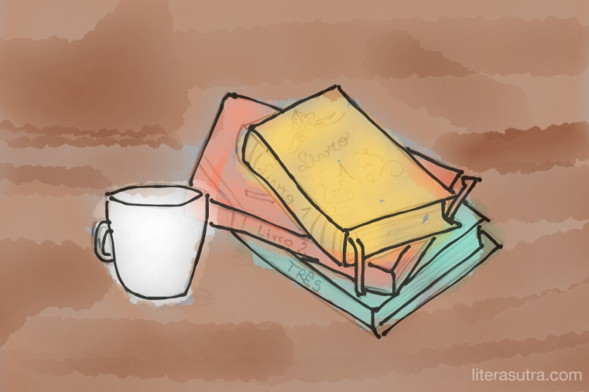 aquarela livros