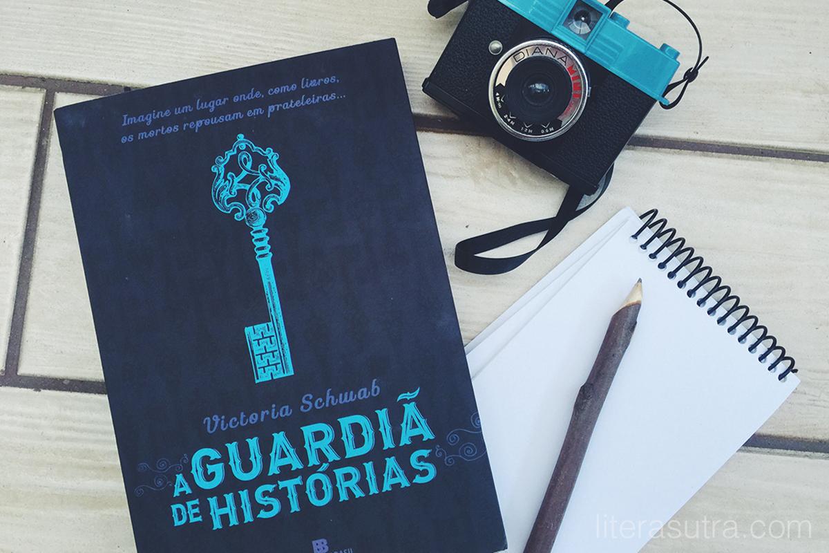 a guardiã de histórias victoria schwab resenha literasutra