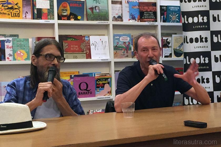 David Lloyd e o mediador, Carlos Patati.